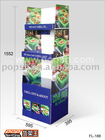 FL-188 corrugate display (supermarket display, exhibition , display)