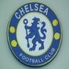 CHELSEA logo pvc embossed coaster decoration