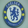 CHELSEA logo pvc embossed coaster decoration