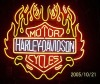 neon sign,Motor Cycle Fire