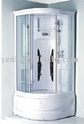 white luxury shower room-shower cabin