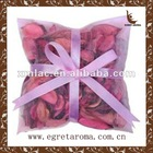 Bulk exotic strawberry potpourri with ribbon for home air freshener