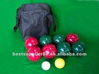 Lawn Bowling Ball Set Boules Bocce Petanque set