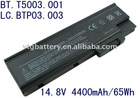 Battery For Acer Aspire 1680 LC.BTP03.003 8Cell Li-ion