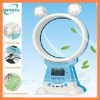 rechargeable multifunctional no blade fan