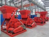 JS750 compulsory concrete mixer,discharge capacity750L,30kw