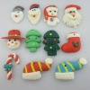 Shapes Mix Style Jewelry Polymer Clay Christmas Pendant