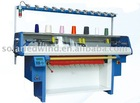 COMPUTERIZED COLLAR KNITTING MACHINE