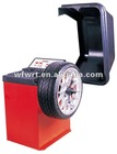 car wheel balance machinery with protection cover