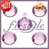 Hot sales Supper shining ss4, ss6.ss8,ss10.ss12,ss16,ss20,ss30,ss34,ss40 light pink color dmc hot fix rhinestone
