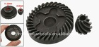 Replacement Bevel Gear 2 Pcs Set for Bosch GWS 6-100