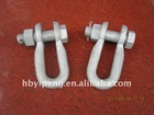 Shackle U-25/U clevis /pole line hardware
