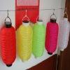 8inch $2.85 led silk plastic seat solar lantern