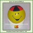 mobile phone holder children toy stress ball face