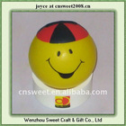 mobile phone holder children toy stress ball face