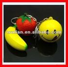 High Quality Giveaway Gift Customized Blank Logo Eco-Soft PU Foam Anti-Stress Ball Keyring Toy Yiwu Company/agent/factory