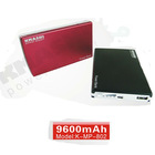 9600mah 5.2v mobile battery charger for IPAD and all other tablet PC
