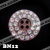 Fashion Crystal Rhinestone Button For Garments