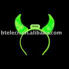 Halloween candle led hair horn colorful led light mood light Novelty Decoration with LED Mood Light