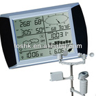 solar weather station w/o radio controlled with Touch Screen