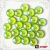 C504 wholesale peridot cabochon iron on studs