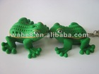Plastic toy Stretch Frog promotion gift toy animal toy with light