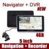 GPS Navigation + car DVR