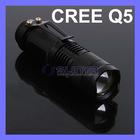 MINI CREE Q5 LED Flashlight Torch Ajustable Zoomable