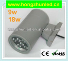9w 18w outdoor IP65 led wall light