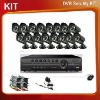 16ch integrated cctv system
