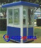 Newest portable and attractive steel sentry box & sentry box house & prefabricated steel house