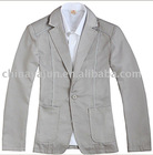 wool and polyester made mens casual cotton suit