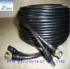 Pre-made RG59 coaxial cctv cable with power CCTV camera cable siamese cable