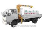 Dongfeng Xiaobawang truck cargo crane spaying (telescoping boom crane)