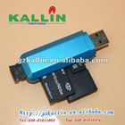 2012 new usb 2.0 all in 1 card reader