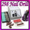 298 Electric Nail Manicure Pedicure Drill File Tool Kit - Nail Drill 298