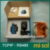 RS-485 To Ethernet TCP/IP Serial Device Server,An easy way for MCU to access internet ,OTH-COV-002