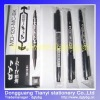 Double head Marker pen indelible marker pen portable marker