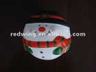 PU Christmas Snowman Anti stress Ball