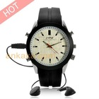 Analog Watch with HD Security Camera & MP3 Player(4GB)