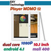 10.1'' Dual Core Dual Camera IPS capacitive touch screen Ployer MOMO 12 tablet pc
