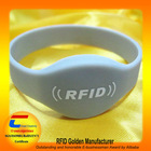 High Quality! Silcone Wristbands with RFID Tag (Top 10 Global Net Entrepreneurs)