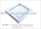 Acrylic square shower tray shower base TB-T001(European Norm)