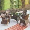 2011 new Outdoor rattan modern garden furniture PR-011