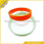 2012 popular custom silicone wristband