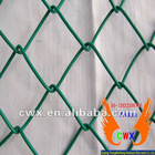 Green PVC Coated Chain Link Fencing 900mm high x 10 metre Roll