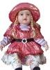 Lovely Lifelike Plastic Dolls