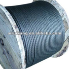 Non-rotating steel wire rope (ungalvanized and galvanized)