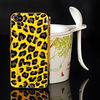 in style panther print cell phone case for iphone 4