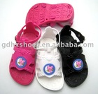 PVC blowing sandal